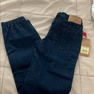NWT True Religion joggers sz 12 kids